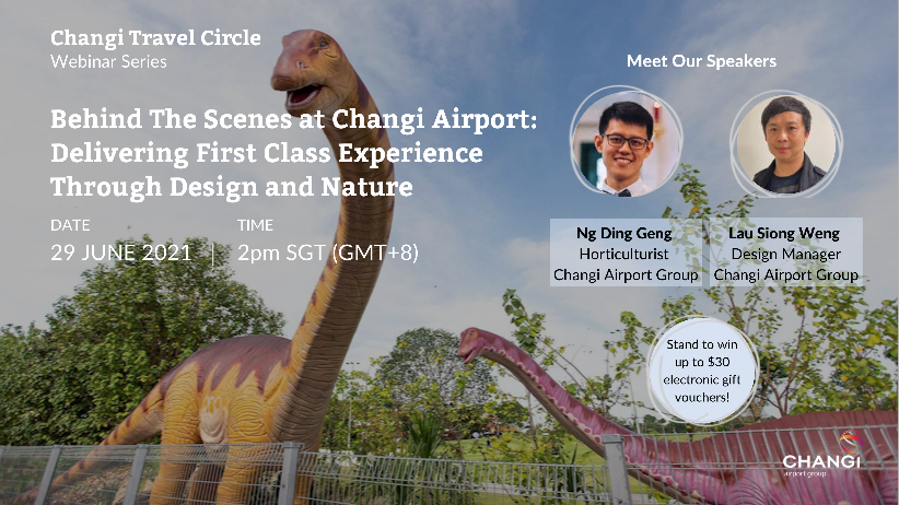 Behind The Scenes at Changi Airport: Delivering First Class Experiences Through Design and Nature