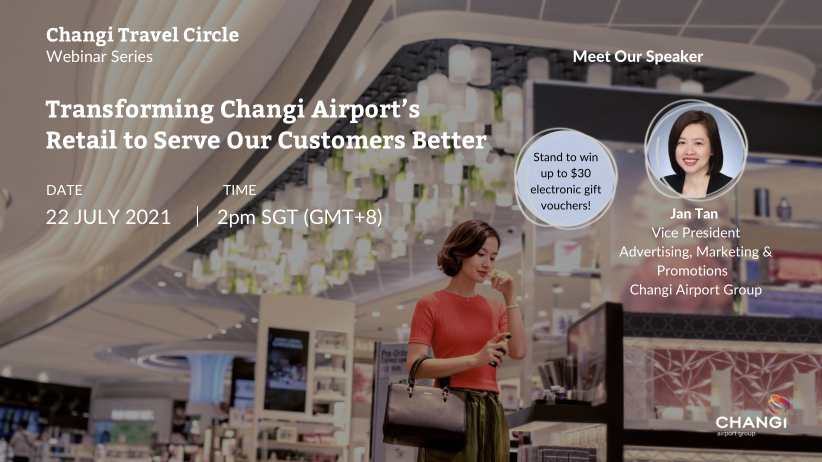 Transforming Changi Airport's Retail to Serve Our Customers Better